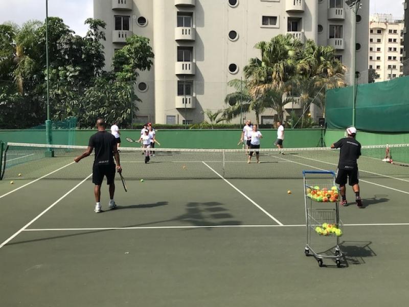 Aula de Tênis com Quadra Jardim das Acácias - Aula de Tênis Intermediário