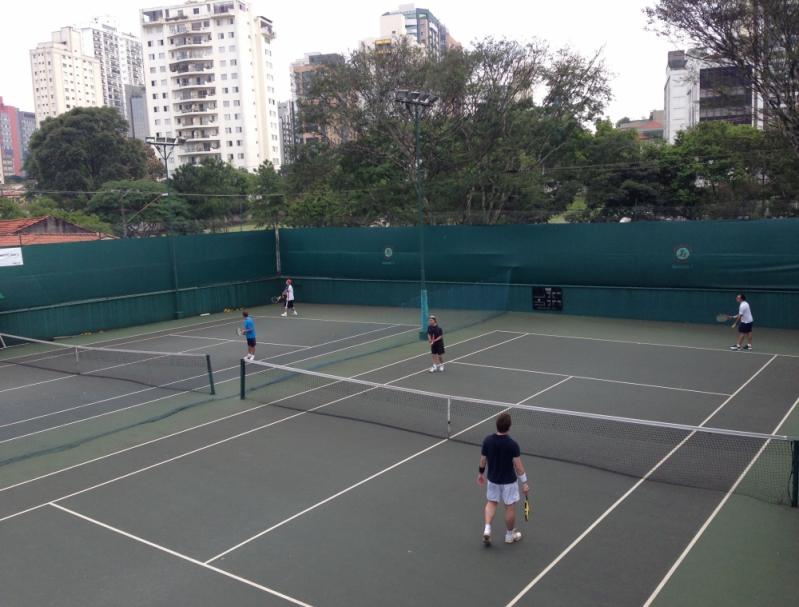 Aula de Tênis em Dupla Jardim Bonfiglioli - Aula de Tênis Infantil