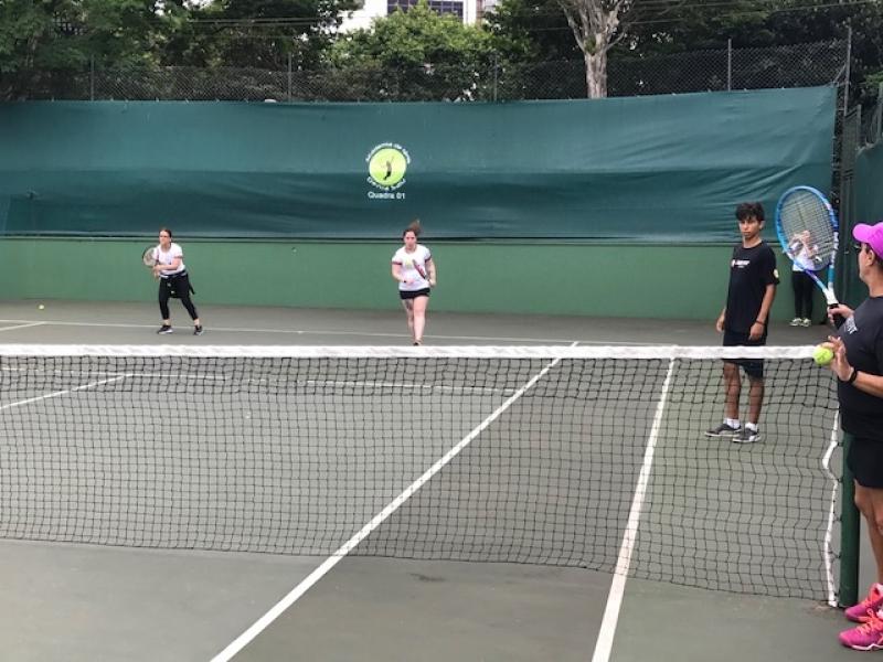 Aulas de Tênis em Dupla Vila Morumbi - Aula de Tênis Avançado
