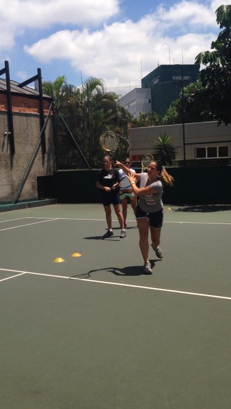 Onde Encontro Academia com Tênis para Aulas em Grupo Alto de Pinheiros - Academia de Tênis