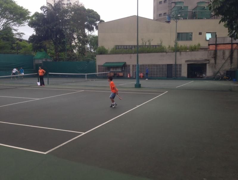 Onde Encontro Academia para Aprender Tênis Jardim Guedala - Academia de Tênis