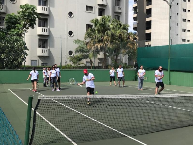 Onde Encontro Clínica de Tênis Santa Cecília - Academia de Tênis