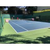 academia com aulas de tênis preço Água Rasa