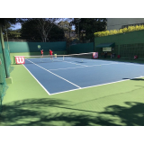 academia com aulas de tênis valores Aeroporto