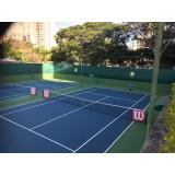 academia com professor de tênis Centro
