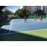 academia de aprender tênis preço Jockey Club