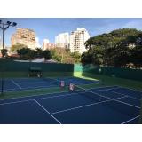 academia de aulas de tênis preço Pinheiros