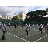 academia de tênis com professor preço Rio Pequeno