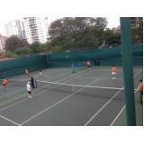 academia de tênis Glicério