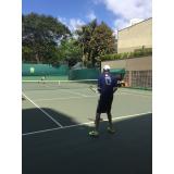 aluguéis de quadras de tênis para jogos Vila Anastácio