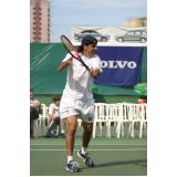 aluguel de quadra de tênis para eventos preço Vila Mariana