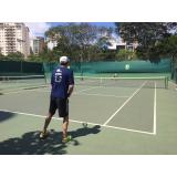 aluguel de quadra de tênis para jogos preço Vila Mariana