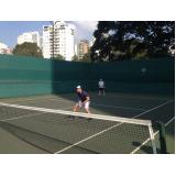aluguel de quadra de tênis preço Vila Mariana