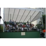 aluguel de quadra para eventos de tênis Centro
