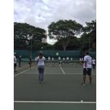 aluguel de quadras de tênis com instrutores Cambuci