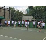 aluguel de quadras para eventos de tênis República