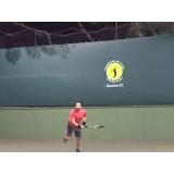 aula de tênis avançado preço Água Branca