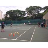 aula de tênis com professor preço Água Rasa
