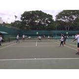 aula de tênis em quadra preço Brooklin