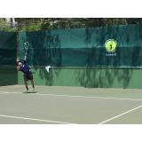 aula de tênis individual preço Alto da Lapa