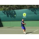 aula de tênis intermediário Conjunto Residencial Butantã
