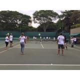 aula de tênis para iniciantes preço Vila Prudente