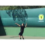 aula de tênis particular Santo Amaro