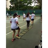 Aula de Tênis com Professor