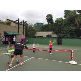 aulas de tênis com quadras Brás