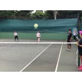 aulas de tênis em dupla Brooklin