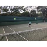 aulas de tênis individuais Vila Anastácio