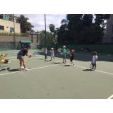 aulas de tênis infantil Vila Formosa