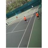 escola de tênis preço Brás