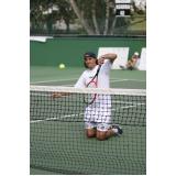 locação de quadra de tênis para eventos Rio Pequeno