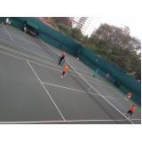locação de quadra de tênis para jogar preço Jardim Everest