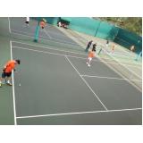 locação de quadra de tênis para jogar Vila Clementino