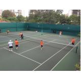 locação de quadra de tênis preço Centro