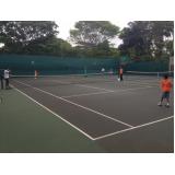locação de quadras de tênis Pacaembu