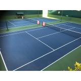 onde encontrar academia com quadra de tênis Glicério