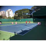 onde encontrar academia de aprender tênis Conjunto Residencial Butantã