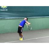 onde encontro escola de tênis individual Rio Pequeno