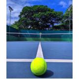 preço de academia com quadra de tênis Bom Retiro