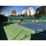 preço de academia de aprender tênis Belenzinho