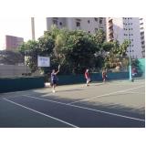 quadras de tênis para locação Barra Funda