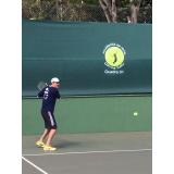 quanto custa academia de tênis individual Jardim Everest