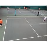 quanto custa academia para aprender tênis Aclimação