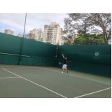 quanto custa aluguel de quadra de tênis Sumaré