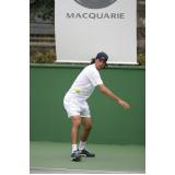 quanto custa aluguel de quadra para eventos de tênis Jardim Paulistano
