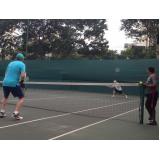 quanto custa aula de tênis em dupla Jabaquara