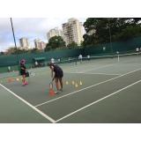 quanto custa aula de tênis em grupo Freguesia do Ó